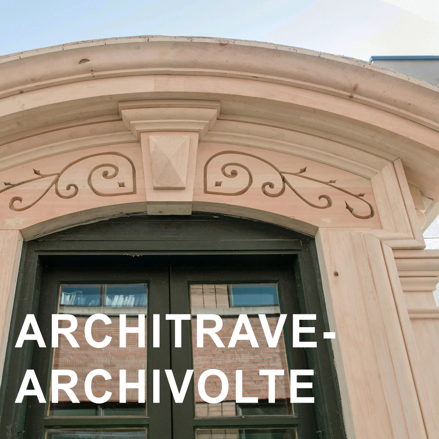 architrave et archivolte